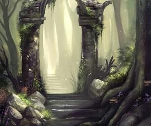 fantasy, portal, and magic image