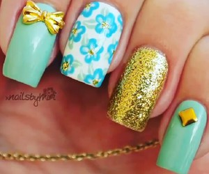 beauty, cute, and nails image