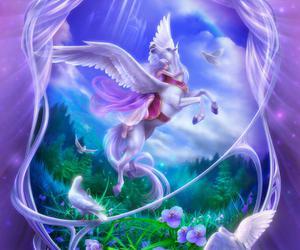 art, bird, and fantasy image