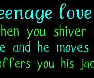 quotes, teenage, and love image