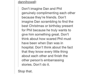 dan, relationships, and phil image