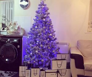 christmas, chanel, and christmas tree image