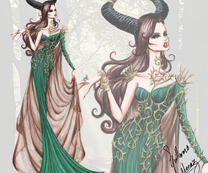 dress and maleficent image