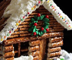 pretzel and christmas image