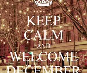 december, christmas, and keep calm image