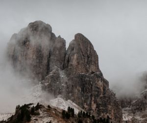 mountains, adventure, and landscape image