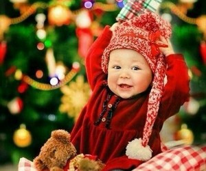 child, marrychristmas, and kids image