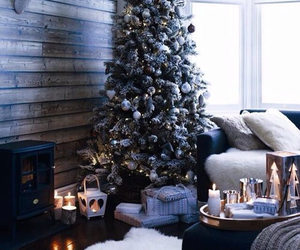 christmas, winter, and home image