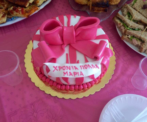 birthday cake, cut, and delicious image
