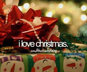 christmas, love, and snow image