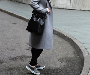 coat, fashion, and girl image