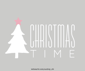 christmas, december, and pink image