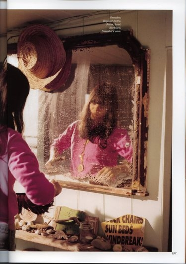 bat for lashes, girl, and mirror image