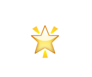 iphone, star, and yellow image