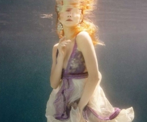 dress, photography, and underwater image