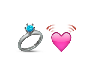 heart, iphone, and ring image