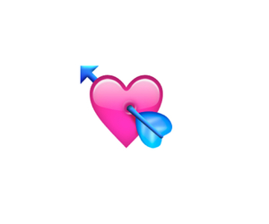 cupid, heart, and emoji image