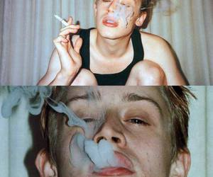 smoke, Macaulay Culkin, and boy image
