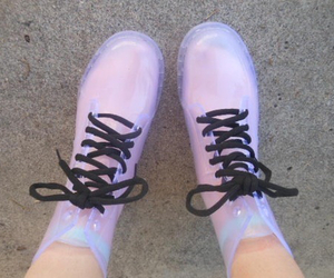 grunge, shoes, and pastel image