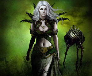 art, gothic, and necromancer image