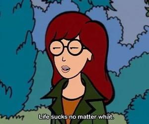 Daria, grunge, and life image