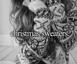 christmas, memories, and sweater image