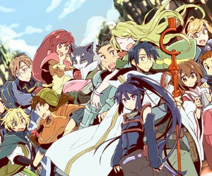 anime and log horizon image