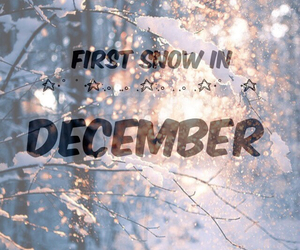 december, snowflakes, and winter image