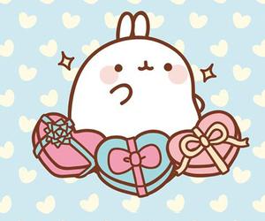 cute, kawaii, and molang image
