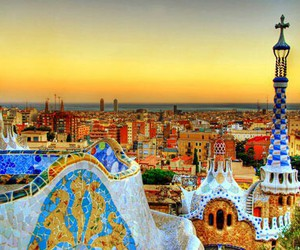 Barcelona, colorful, and europe image