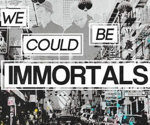 fall out boy, FOB, and immortals image