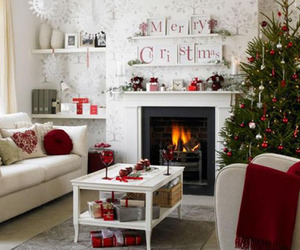 christmas, house, and winter image