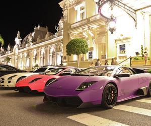 cars, Lamborghini, and lights image