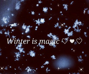 christmas, magic, and winter image