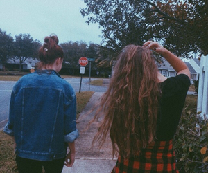 grunge, friends, and hair image