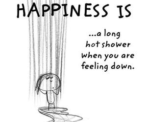 shower, down, and feeling image