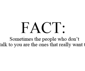 fact, quote, and text image