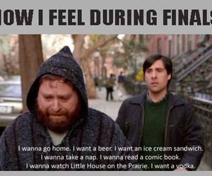 finals, exams, and feel image
