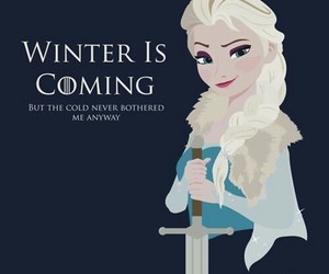 frozen, elsa, and game of thrones image