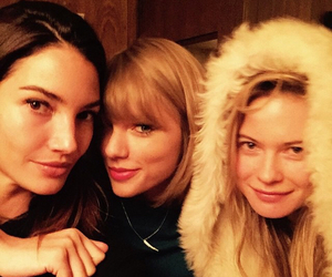 Taylor Swift, Lily Aldridge, and Behati Prinsloo image