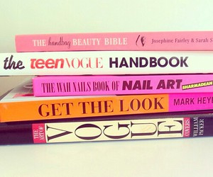 book, vogue, and fashion image