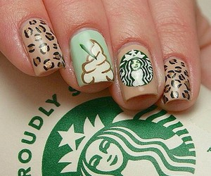 nails and starbucks image