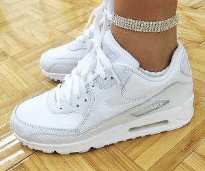 glitter, nike, and airmax image
