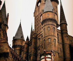 hogwarts, castle, and harry potter image