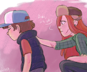 lol, wendy, and dipper image