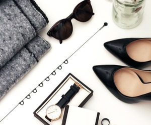 fashion, heels, and watch image