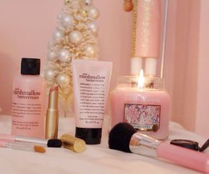 pink, beauty, and candle image