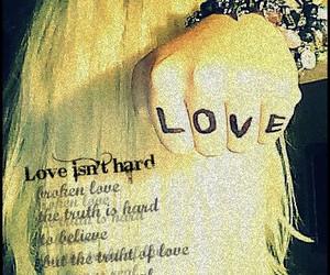 blonde, bracelet, and love image
