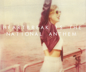 1989, Taylor Swift, and new romantics image