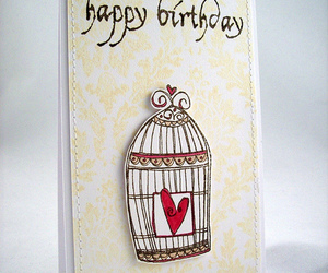 birthday, card, and love image